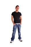 холодный подросток Стоковые Фото