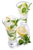 холодный свежий лимонад Стоковые Фото