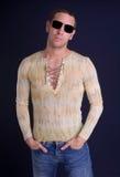 холодный человек стоковое изображение