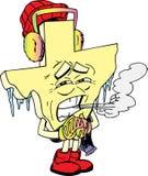 холодный texas Бесплатная Иллюстрация