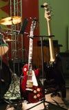 2 холодных гитары Стоковое Изображение RF