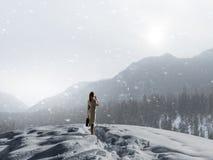 Холод нет причины Стоковое Изображение RF