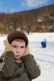 холод ребенка стоковые изображения rf
