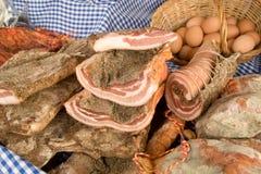 холод eggs мясо Стоковое Изображение RF