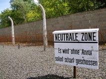 холокост концентрации лагеря sachsenhausen стоковые фотографии rf