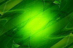 Холодная зеленая предпосылка Стоковое Изображение RF