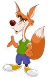 холодная лисица Стоковые Фото
