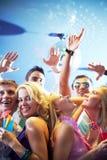 холодная партия Стоковая Фотография RF