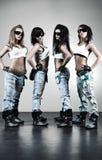 холодные работники женщин Стоковые Изображения RF