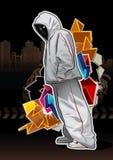 холодные детеныши изображения гангстера Стоковое Изображение RF