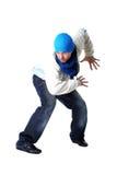 холодный человек танцора самомоднейший Стоковые Фото
