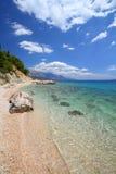 Хорватия - адриатический свободный полет стоковое фото