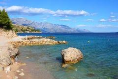 Хорватия - адриатическое море стоковые фото