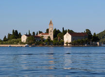 Хорватия - городок Vis (Issa) Стоковое фото RF