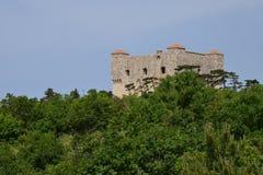 Хорватия, живописный форт Nehaj в Senj Стоковые Фото