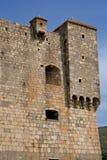 Хорватия, живописный форт Nehaj в Senj Стоковые Изображения