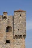 Хорватия, живописный форт Nehaj в Senj Стоковая Фотография RF