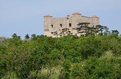 Хорватия, живописный форт Nehaj в Senj Стоковое Фото
