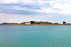 Хорватия Северная Далмация стоковая фотография rf
