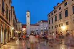 Хорватия dubrovnik стоковое фото rf