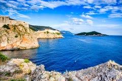 Хорватия dubrovnik Стоковая Фотография