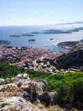 Хорватия hvar Стоковое Изображение RF