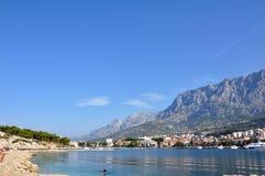 Хорватия, Makarska Стоковые Изображения RF