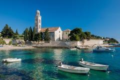 хорватская гавань Стоковая Фотография