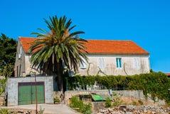 хорватская дом Стоковое Изображение
