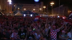 Хорватские футбольные болельщики акции видеоматериалы