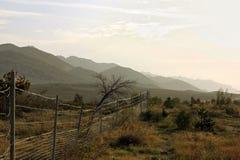 хорватский ландшафт Стоковые Изображения