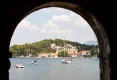 Хорватский взгляд Стоковое фото RF