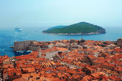 хорватский остров Стоковое Изображение