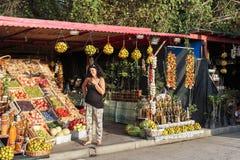 Хорватский рынок обочины Стоковое Изображение