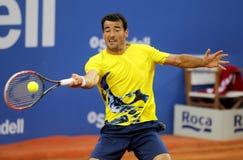 Хорватский теннисист Иван Dodig Стоковые Изображения RF