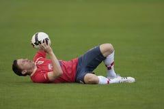 хорватский olic футбол игрока 2 Стоковое фото RF