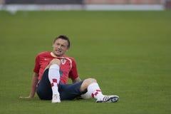 хорватский olic футбол игрока 3 Стоковое фото RF