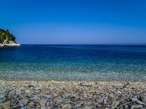 Хорватское море стоковое фото rf
