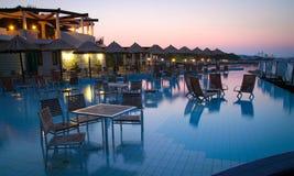Хорват пляжа штанги aqua красивейший Стоковая Фотография