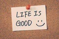 хорошая жизнь Стоковое Фото