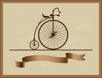 Хорошая память его велосипеда деда Стоковое Изображение