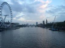 Хорошая старая Темза стоковая фотография rf