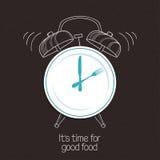 Хорошее время еды Стоковое Изображение