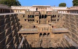 Хорошее baori Chang расположенное около Джайпура и Агры стоковая фотография