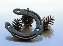 хорошее horseshoe везение Тотем удачи Стоковое Изображение