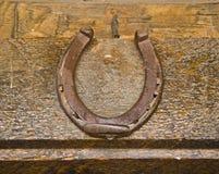 хорошее horseshoe везение Стоковые Изображения