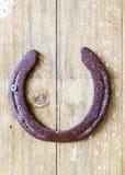 хорошее horseshoe везение Стоковая Фотография