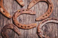 хорошее horseshoe везение стоковое изображение rf