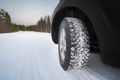 Хорошие автошины зимы Стоковая Фотография RF