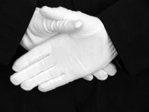 хорошие руки Стоковое Изображение RF